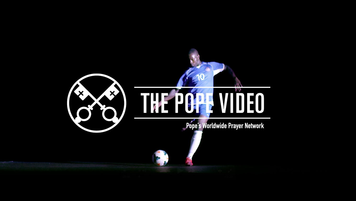 The Pope Video August 2016 (Official Image)