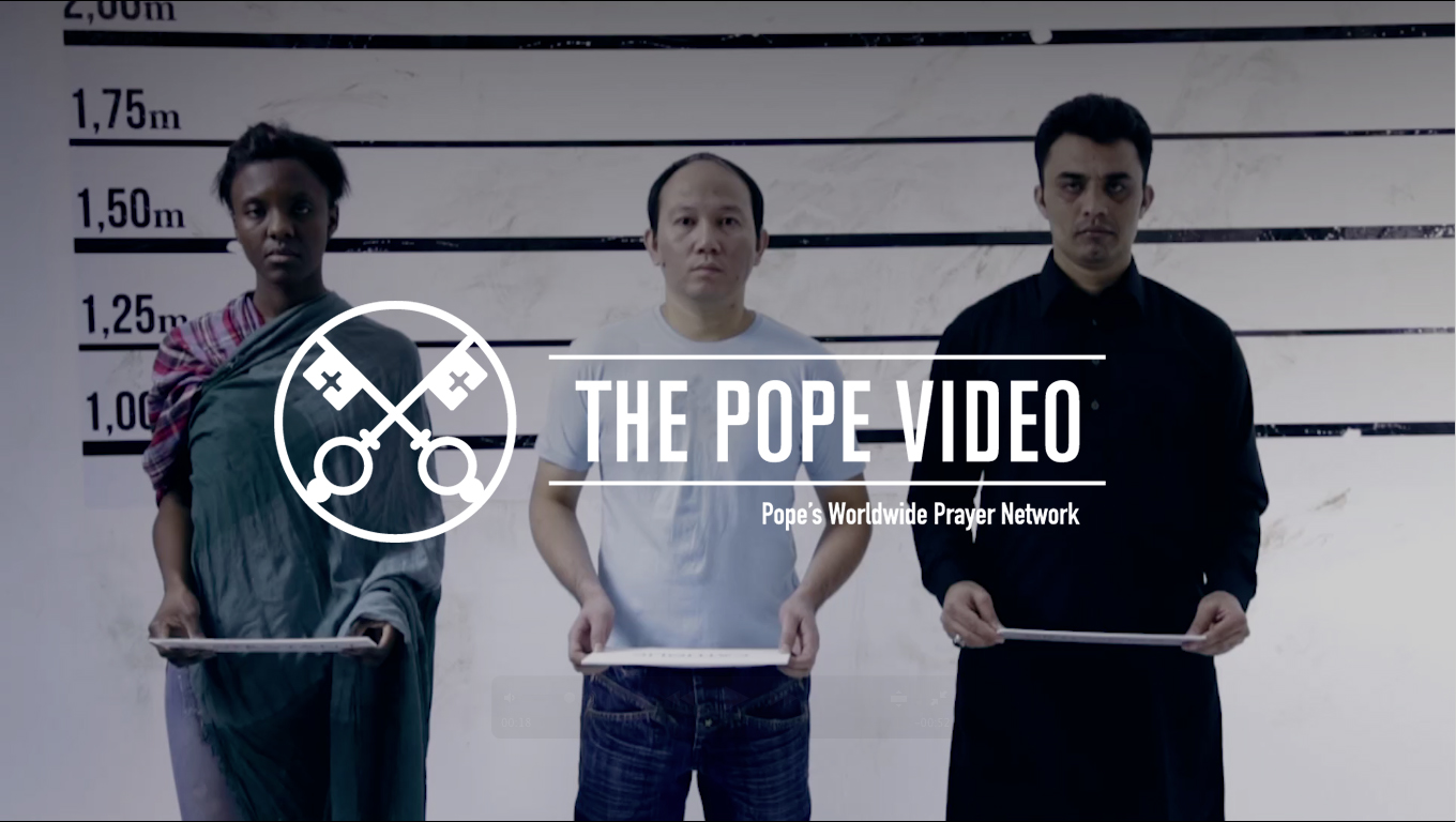 "Pope denounces persecution of Christians with this month's ""The Pope Video"""