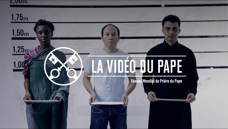 Le Pape dénonce la persécution des chrétiens dans une vidéo