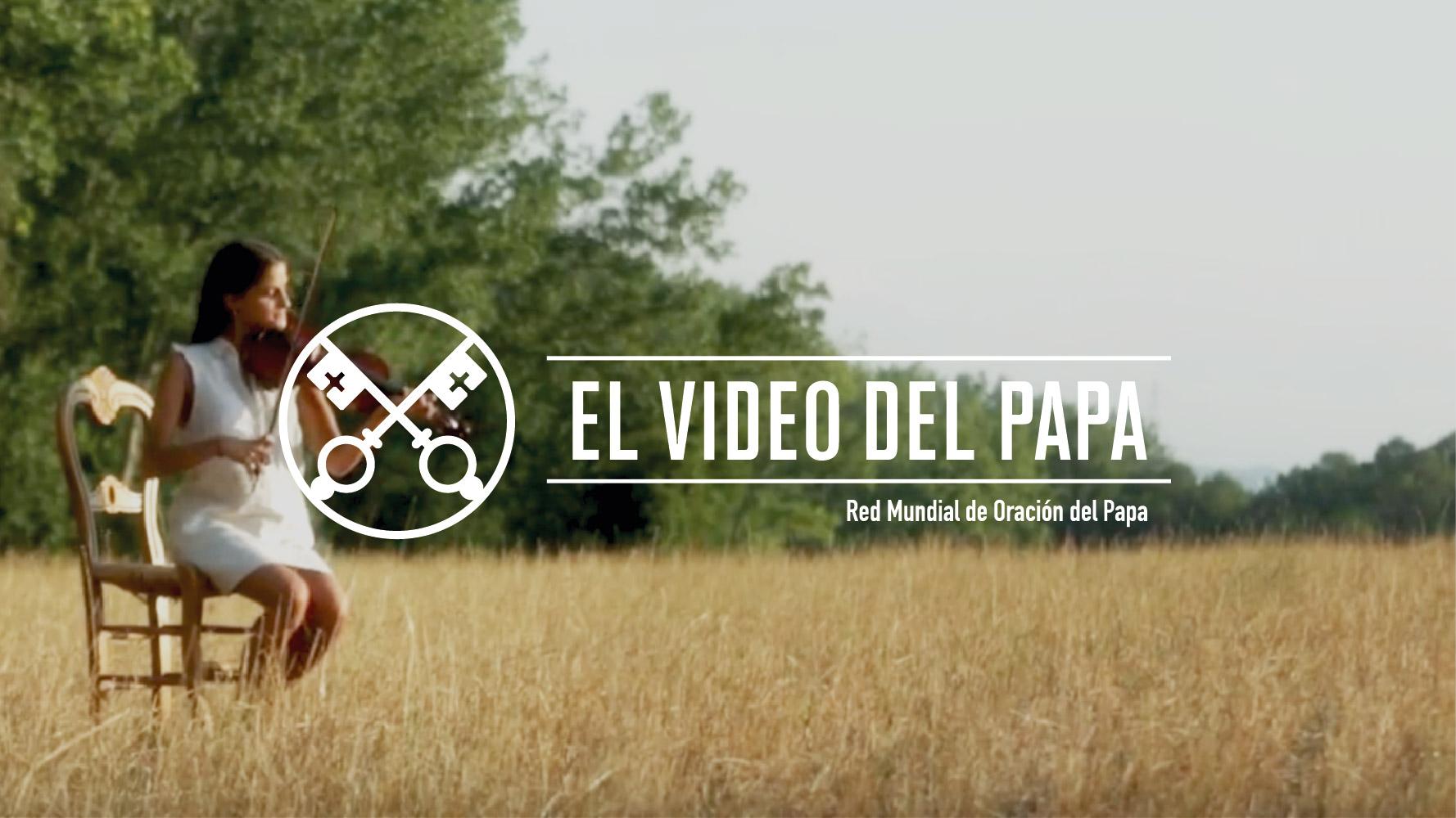 Artistas, música, baile e instrumentos le ponen color al nuevo vídeo del Papa