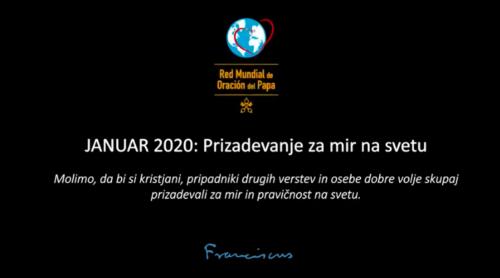 Januar 2020: Prizadevanje za mir na svetu