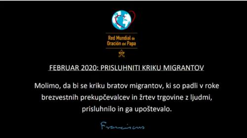 Februar 2020: Prisluhniti kriku migrantov