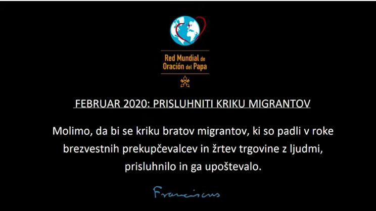 Februar: Prisluhniti kriku migrantov