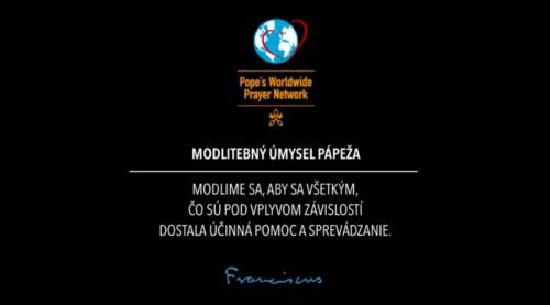 Pápež František: Modlime sa za ľudí, ktorí trpia závislosťami!