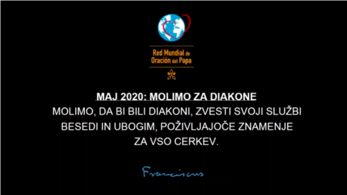 MAJ 2020: Molimo za diakone