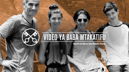 Official Image TPV 7 2020 SW - Video ya Baba Mtakatifu - Familia zetu