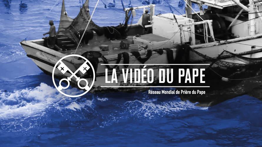 Le pape François dénonce  la dure condition des gens de mer