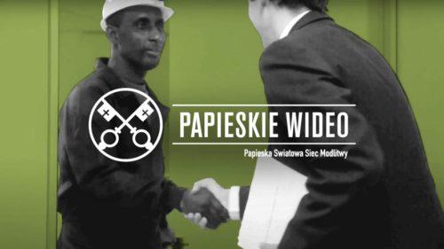 Official Image - TPV 9 2020 PL - Papieskie Wideo - Szacunek Dla Zasobów Planety