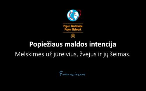 Popiežiaus maldos intencija rugpjūčiui