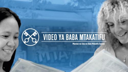 Official Image - TPV 10 2020 SW - Video ya Baba Mtakatifu - Wanawake katika dhima ya uongozi katika Kanisa
