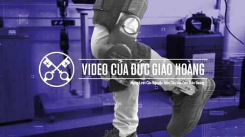 Official Image - TPV 10 2020 VN - Video của Đức Giáo Hoàng - Trí Tuệ Nhân Tạo
