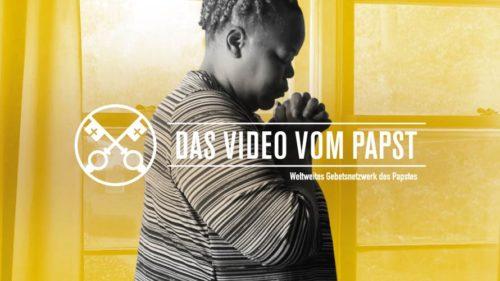 Official Image - TPV 12 2020 DE - Das Video Vom Papst - Für ein leben im gebet