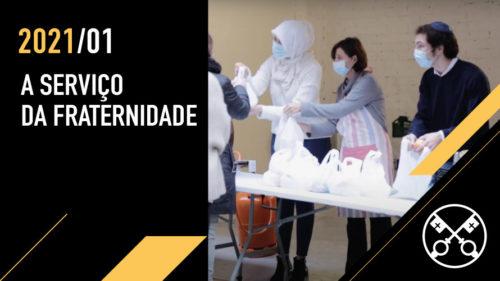 Official Image TPV 1 2021 PT - O Video do Papa - A serviço da fraternidade