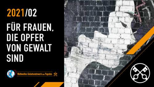 Official Image TPV 2 2021 DE - Das Video vom Papst - Für Frauen, die Opfer von Gewalt sind