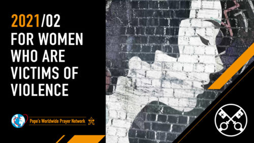 Official Image TPV 2 2021 EN - The Pope Video - For women who are victims of violence