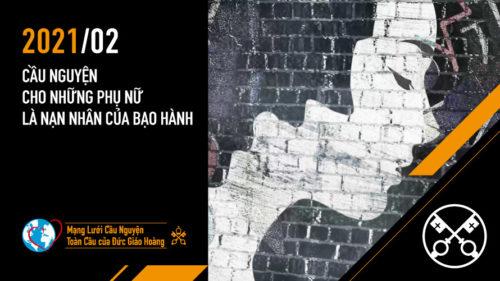 Official Image TPV 2 2021 VN - Video của Đức Giáo Hoàng - Cầu nguyện cho những phụ nữ là nạn nhân của bạo hành