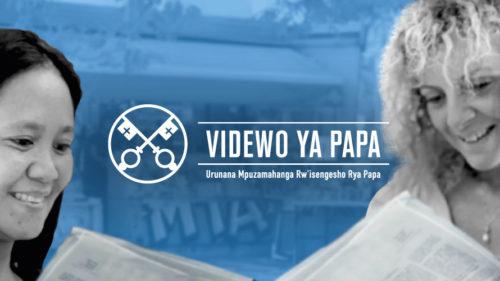 Official Image - TPV 10 2020 RW - Videwo Ya Papa - Abagore mu nzego z'ubuyobozi bwa kiliziya