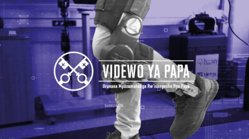 Official Image - TPV 11 2020 RW - Videwo Ya Papa - Ubwenge buhangano