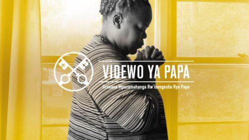 Official Image - TPV 12 2020 RW - Videwo ya Papa - Ubuzima Bw'isengesho