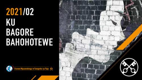 Official Image TPV 2 2021 RW - Videwo ya Papa - Ku bagore bahohotewe