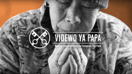 Official Image - TPV 3 2020 RW - Videwo ya Papa - Abagatolika bo mu Bushinwa