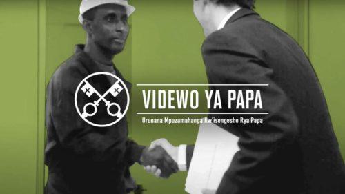 Official Image - TPV 9 2020 RW - Videwo Ya Papa - KUBAHA UMUTUNGO KAMERE W'ISI