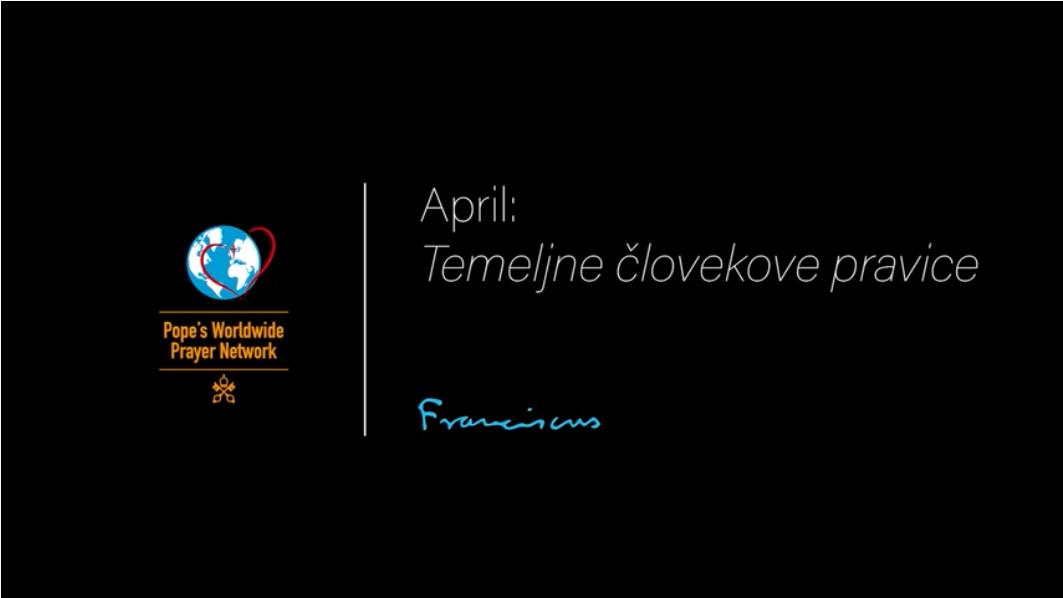 April: Temeljne človekove pravice