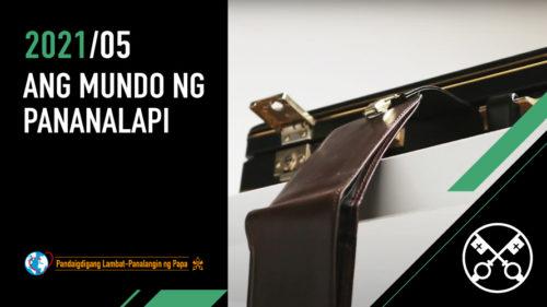 Official Image - TPV 5 2021 TL - Ang mundo ng pananalapi