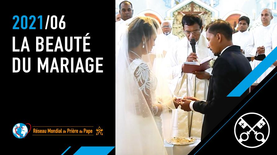 Le Pape François met à l'honneur la beauté du mariage: « Se marier et partager la vie est une belle chose »