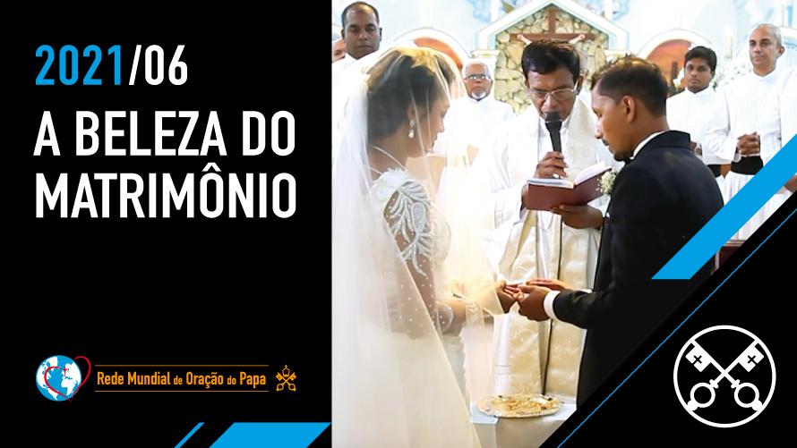 """Papa Francisco destaca a beleza do matrimônio: """"Casar e compartilhar a vida é algo belo"""""""