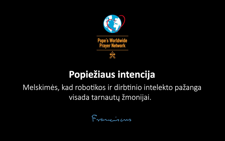 Popiežiaus maldos intencija lapkričio mėnesiui