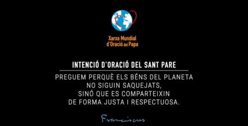 Respecte pels béns del planeta