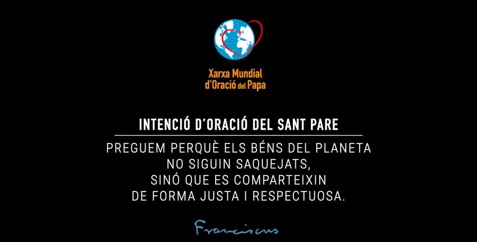 SETEMBRE   Respecte pels béns del planeta