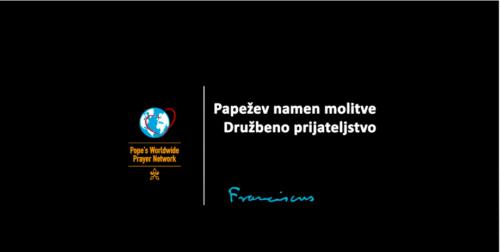 Papežev video namen za julij 2021: Družbeno prijateljstvo