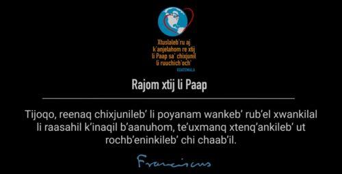 Wank chi ach'ab'anb'il, chiru li k'inaqil raasahil b'aanuhom