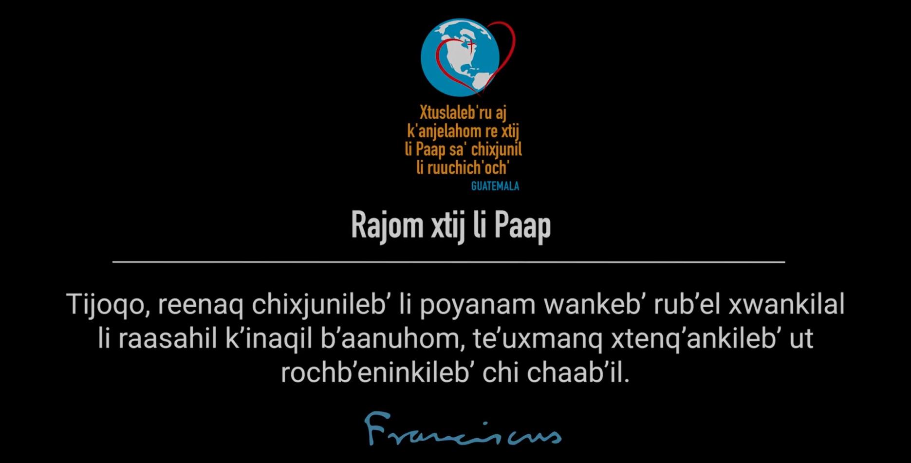 04 | Wank chi ach'ab'anb'il, chiru li k'inaqil raasahil b'aanuhom